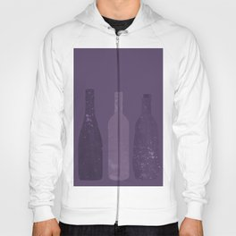 Abstract Wine Bottles Hoody