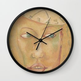 Time man Wall Clock
