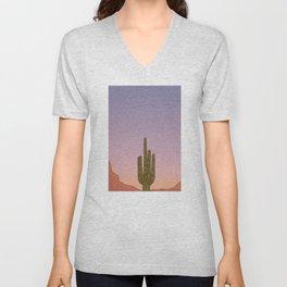 Sonoran Dusk Unisex V-Neck