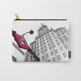 Edificio España - Madrid (Spain) Carry-All Pouch