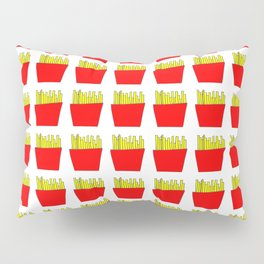French fries -fries,patatoes,fast food,patato,frites,wedges,patata Pillow Sham