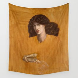 The Lady Of Pity Dante Gabriel Rossetti Wall Tapestry