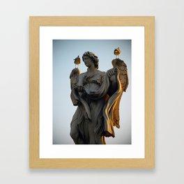 Sant'Angelo Statue 3 Framed Art Print