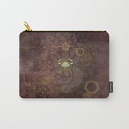 Steampunk Zodiac Cancer Carry-All Pouch