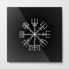 Vegvisir II Metal Print