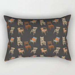House of Chairs Rectangular Pillow