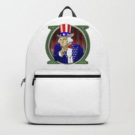 George Washington President Uncle Sam Hat Backpack
