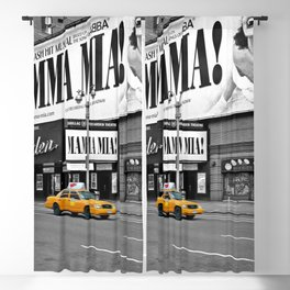 NYC - Yellow Cabs - Musical - High Blackout Curtain