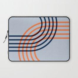 Counterbalance - orange blue Laptop Sleeve