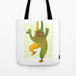 dancing rabbit Tote Bag