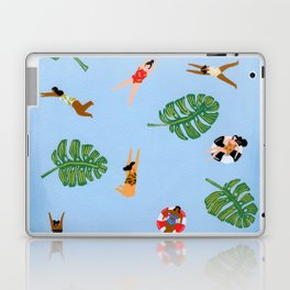 Floating in the sea Laptop & iPad Skin