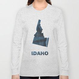 Idaho map Long Sleeve T-shirt