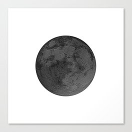 BLACK MOON Canvas Print