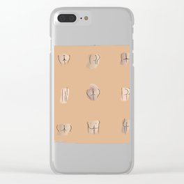 Ode to Bums Clear iPhone Case