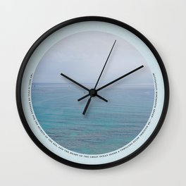 Secrets of the Sea Wall Clock