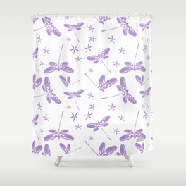 CN DRAGONFLY 1006 Shower Curtain