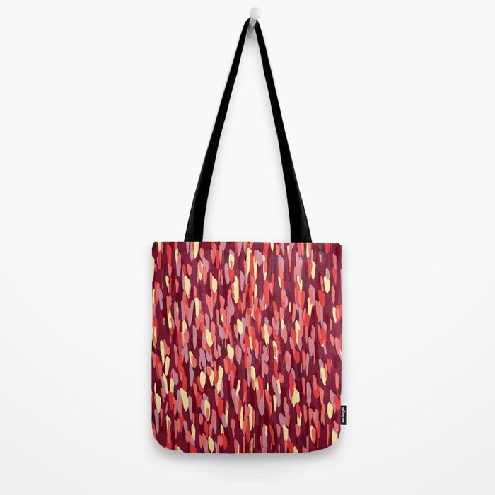 Small Dot Red Tote Bag