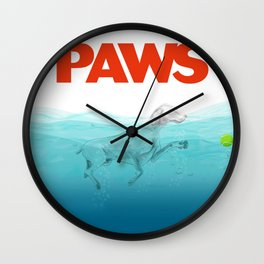 PAWS Wall Clock