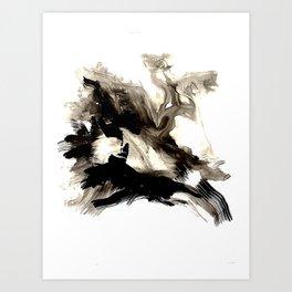 Black + White 1 Art Print
