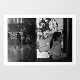 Reflection of BKK I Art Print