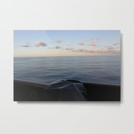 South Pacific Water Metal Print