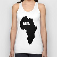 asia Tank Tops featuring ASIA by AnacondaOnline.eu