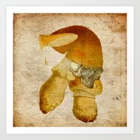 the mortal instruments Art Prints featuring Mortal mushroom by Joe Ganech