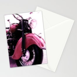 Motorcycle-Poster Stationery Cards