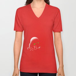 Marvin the Android Unisex V-Neck
