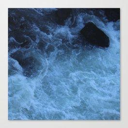 Overhead Rush Canvas Print