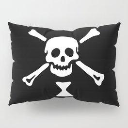 Emanuel Wynne Pirate Flag Jolly Roger Pillow Sham