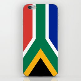 Flag of South Africa, Authentic color & scale iPhone Skin