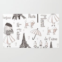 Paris Girl Rug