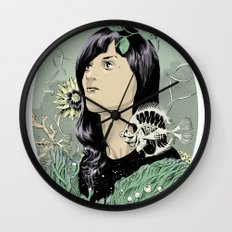 A Hole in the Ocean Wall Clock