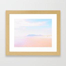 Salt Water  Framed Art Print