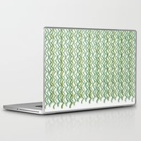 knit Laptop & iPad Skins featuring Knit Pattern by VessDSign