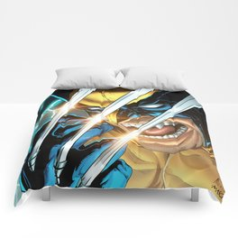 LOGAN X-MEN SUPERHERO COMICS Comforters