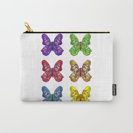Bejeweled Butterflies Carry-All Pouch