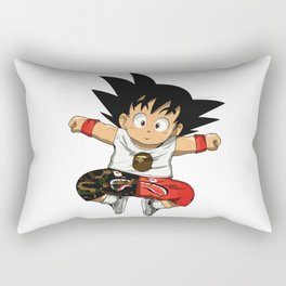 Little Goku Bape Hype Rectangular Pillow