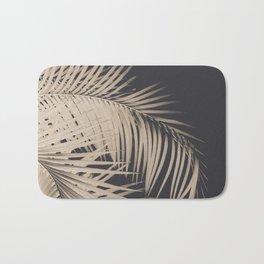 Palm Leaves Sepia Vibes #3 #tropical #decor #art #society6 Bath Mat