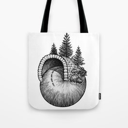 Spiral Up The Mountain Tote Bag