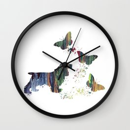 Cocker Spaniel Art Wall Clock