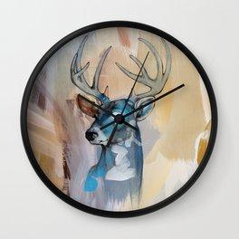 Eye watching Wall Clock
