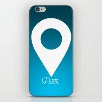 CarpeDiem iPhone & iPod Skin