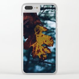 Natural mood Clear iPhone Case