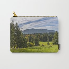 Alpine Landscape Carry-All Pouch