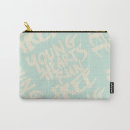 young hearts run free Carry-All Pouch