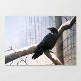 Winter Messenger Canvas Print