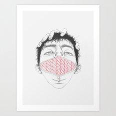 Misfit Circuit 1 Art Print