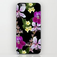 FLOWERED PHOTO DESIGN iPhone & iPod Skin